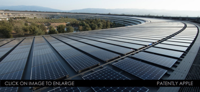 助力可再生能源项目!苹果获太阳能电池板专利