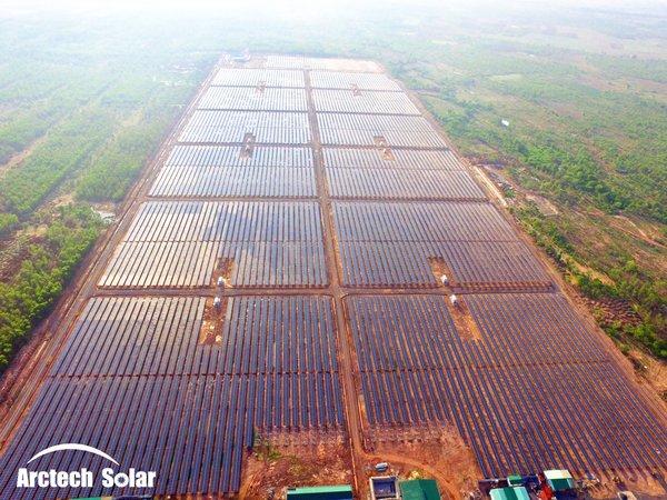 中信博2018越南支架供应1GW